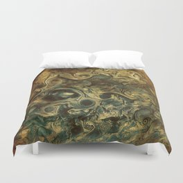 Jupiter's Clouds 2 Duvet Cover