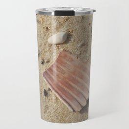 Shells in the Sand Travel Mug