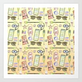 Summerthings Art Print
