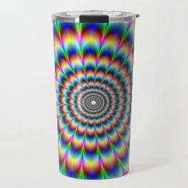 Trippy Stoner Travel Mug