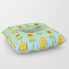 Kawaii Sunflowers Floor Pillow