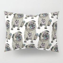 Ares The Pug Pillow Sham