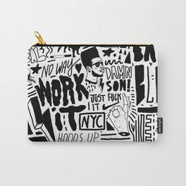 work it Carry-All Pouch