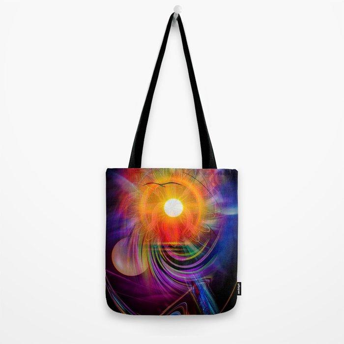 Abstract - Perfkektion - Sunset Tote Bag