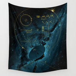Voyager and the Golden Record - Space   Science   Sagan Wall Tapestry