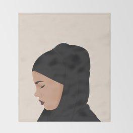 Skam | Sana Bakkoush Throw Blanket