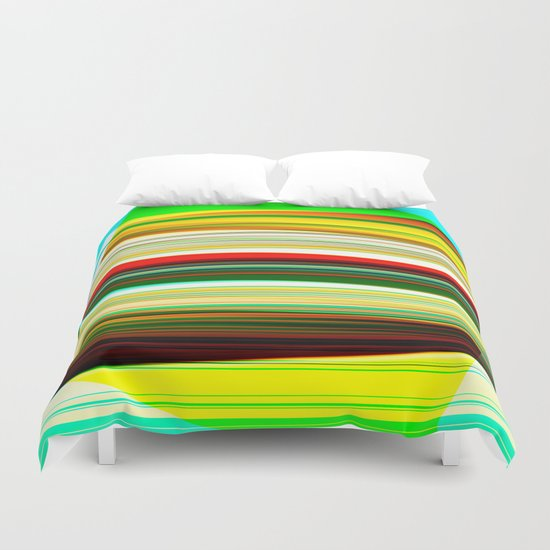 colored frost Duvet Cover