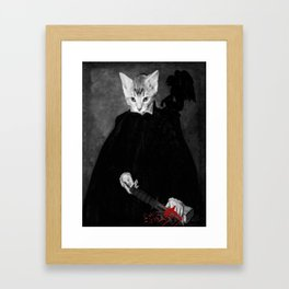 CATATONIC ( from the 'joy in pain' series) Framed Art Print