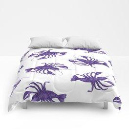 Le Lobster Bleu Comforters