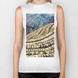 Terraces Above and Below Biker Tank
