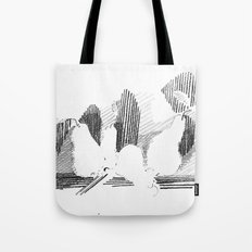 Shadows Tote Bag