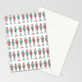 Nutcracker Watercolor and Ink Pattern Stationery Cards