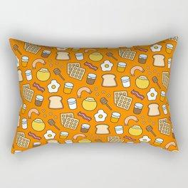 Yummy Breakfast - Cute Pattern Rectangular Pillow