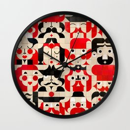 Face Maker New Wall Clock