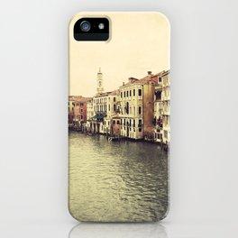 Grand Canal in Venice iPhone Case