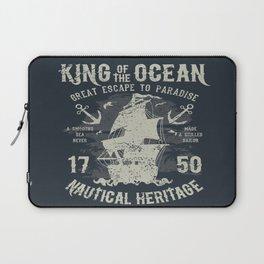 King of the Ocean Laptop Sleeve