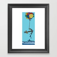 Stay Lifted Framed Art Print