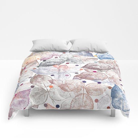 Leaf mosaic(24). Comforters