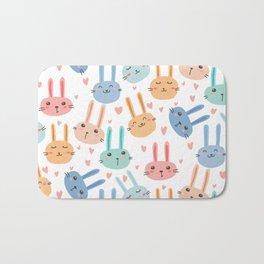 Funny Bunnies Bath Mat