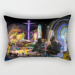 Fairground Attraction panorama Rectangular Pillow