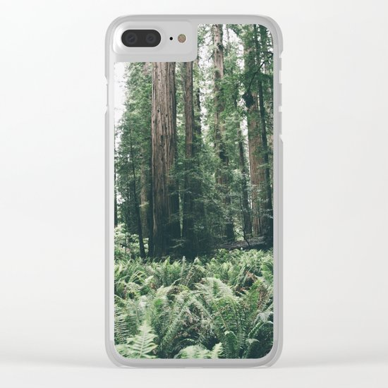 Forest XXV Clear iPhone Case