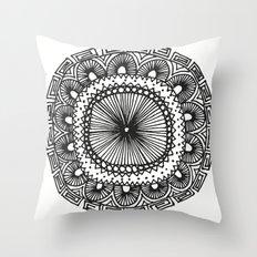Mandala 1 Throw Pillow