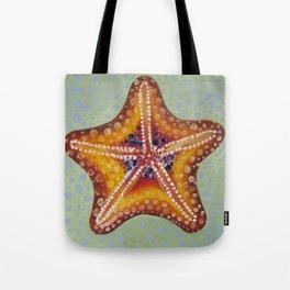 Sea Star Orange Tote Bag