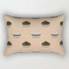Chocolate Cupcakes Rectangular Pillow