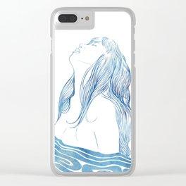 Undine I Clear iPhone Case