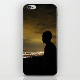 Blinding light that never sleeps iPhone Skin