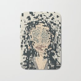 Fragmented Bath Mat