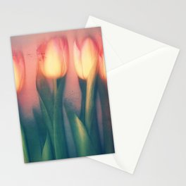 Tulips Yellow Stationery Cards