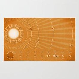Solar System Hot Rug
