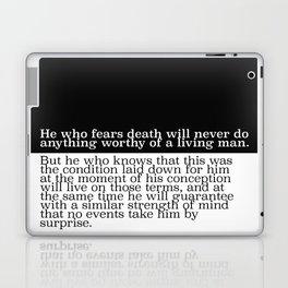 He Who Fears Death Laptop & iPad Skin