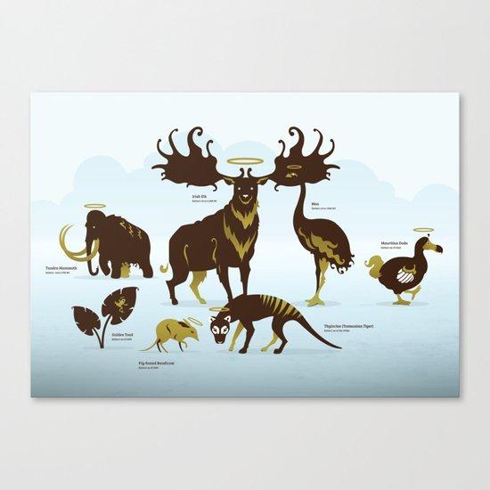 God's Zoo Canvas Print