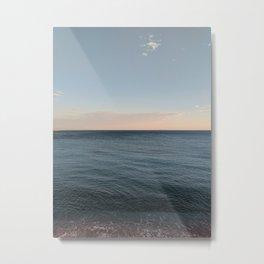 Breathing sea Metal Print