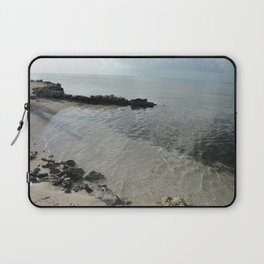 Your own private beach...  Laptop Sleeve