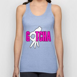 Gotcha The Circle Game Pink Unisex Tank Top