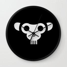 Minimal Monky Wall Clock