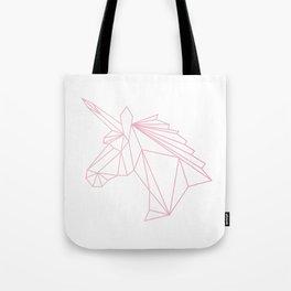 Unicorn Pink Tote Bag