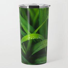 Fresh | Bright Green Spring Rain - Natural Imagery Travel Mug