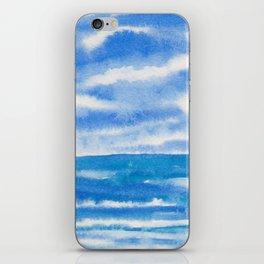 Bluegreen Seascape iPhone Skin