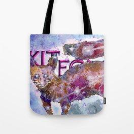 Kitfox Tote Bag