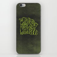 internet iPhone & iPod Skins featuring MYSTERIOUS INTERNET by Josh LaFayette