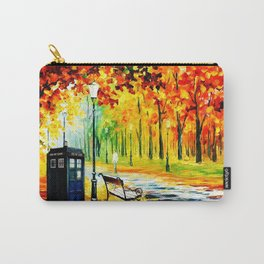 Tardis Art Waiting Somebody Carry-All Pouch