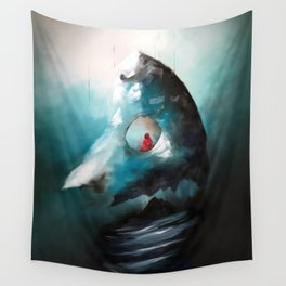 Totems Vertical Wall Tapestry