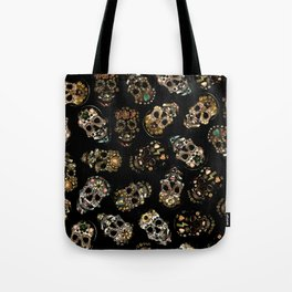 skull family Tote Bag