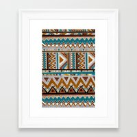 cactus Framed Art Prints featuring ▲CACTUS▲ by Kris Tate