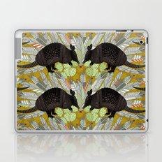 native armadillos gold Laptop & iPad Skin