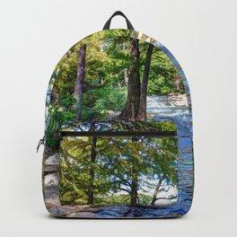 Guadalupe River - Gruene Texas Backpack